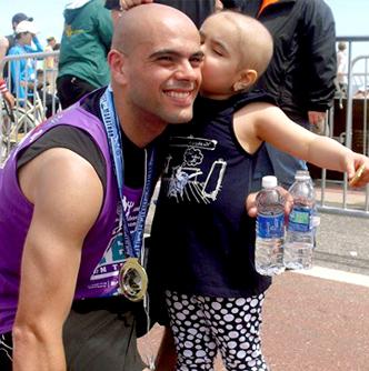 Carlos Silva and Juliana Silva in Marathon