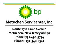BP - Metuchen Servicenter Inc